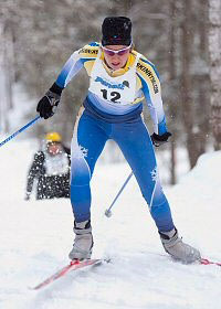 Cross Country Ski Racer Paulette Niemi